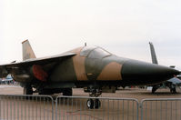 68-0063 @ EGQL - F-111E of RAF Upper Heyford's 77th Tactical Fighter Squadron/20th Tactical Fighter Wing on display at the 1986 RAF Leuchars Airshow. - by Peter Nicholson