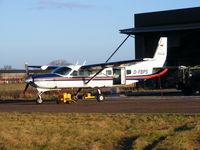 D-FBPS @ X3LR - at the British Parachute School, Langar - by Chris Hall