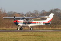 G-BGAE @ EGBG - visitor from Peterbrough Connington - by Chris Hall