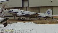 C-FTGX @ KOSH - Turbo DC-3 (BT-67)  Sn# 25769 @ Basler Turbo Conversions Oshkosh WI - by steveowen