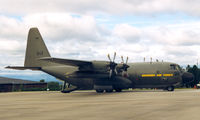 84008 - Swedish Air Force , 848 , Hercules, departure F4 to F16 at Visby, 26 Jul '99 - by Henk Geerlings