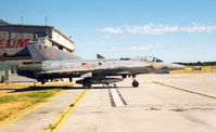 35545 @ VBY - Swedish Air Force , Saab J35J Draken at Visby Aviation Museum , Jul '99 - by Henk Geerlings