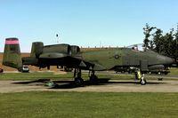 80-0160 @ EGVJ - flightline at RAF Bentwaters