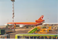 C-GCPC @ LIRF - CP Air at Rome. Flight to Amsterdam - by Henk Geerlings