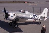 N86572 @ SQL - Demonstration flight for the Hiller Aviation Museum. - by Bill Larkins
