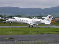 D-CSIX @ EGNS - Learjet 60 D-CSIX lands at IOM - by Manxman
