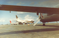 A4O-BK @ LCA - Gulf Air at Larnaca 1983 - by Henk Geerlings