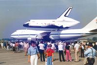 N905NA @ LBG - N905NA , B747 SCA - Shuttle Carrier Aircraft , B747-123(SCA) - 376 , cn 20107-86 , Le Bourget 04 jun1983 - by Henk Geerlings