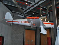 D-ECOH - Klemm KI-107C at the splendid Deutsches Technikmuseum, Berlin. - by moxy
