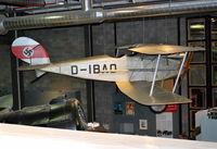 D-IBAO - Halberstadt CL.IV, Engine: 160 hp Mercedes DIII at the Deutsches Technikmuseum, Berlin. - by moxy