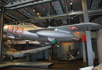 1323 - Ex Polish AF, WSK-Mielec Lim 2, licensed Mig 15bis powered by licence built Klimov VK-1. At the Deutsches Technikmuseum, Berlin. - by moxy