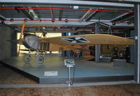 A118/13 - Only surviving Jeannin Stahltaube observation aeroplane at the Deutsche Technikmuseum, Berlin. Powered by a 6 cylinder Argus engine. Marked as A180/14. - by moxy