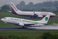 D-AGEK @ EDDR - D-AGEK_ 1991 BOEING 737-3M8 - by Jerzy Maciaszek