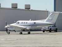 N41AK @ CNO - Parked east of Advantage Avionics - by Helicopterfriend