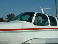 N5397E @ LVK - Bob St Clair at the controls - by Nora St Clair