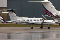 D-ICGN @ EGGW - German registered Piper PA-42 1000 Cheyenne, c/n: 42-5527030 at Luton - by Terry Fletcher