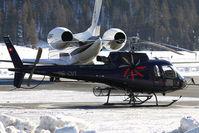 HB-ZUT @ LSZS - Swiss Jet Eurocopter AS-350B-3 Ecureuil  cn 4612 - by Delta Kilo