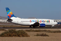 LY-FLH @ GCRR - Small Planet Airlines Boeing 737-300, c/n: 25161 at Lanzarote