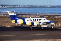 EC-GHZ @ GCRR - Emergency Services Beech 200 at Lanzarote