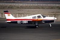 EC-DBH @ GCRR - Canavia's Piper PA-28-140F Cherokee Cruiser, c/n: 28-7725281 at Lanzarote