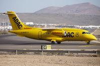 D-BADC @ GCRR - Aero Dienst's 1998 Fairchild-Dornier 328JET-310, c/n: 3216 about to depart from Lanzarote