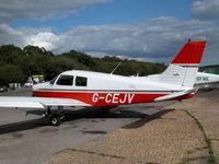 G-CEJV @ EGHH - Thielert TAE 125-02-99 powered Cadet outside the Flying Club - by BIKE PILOT