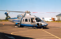OH-HCJ @ EFHE - Copterline , Helsinki Heliport , July 2003 - by Henk Geerlings