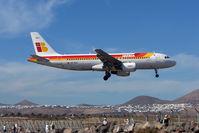 EC-KHJ @ GCRR - Iberia's 2004 Airbus A320-214, c/n: 2347