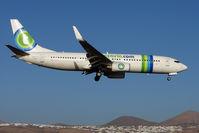PH-HZY @ GCRR - Transavia's Boeing 737-8K2, c/n: 30646