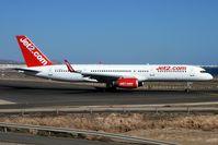 G-LSAK @ GCRR - Jet 2 1996 Boeing 757-23N, c/n: 27973