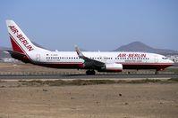 D-ABAR @ GCRR - Air Berlin 1998 Boeing 737-86J, c/n: 28072