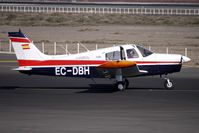 EC-DBH @ GCRR - Canavia's Cherokee Cruiser gets some fresh air at the holding point at Lanzarote
