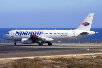 EC-KOX @ GCRR - Spanair's 2000 Airbus A320-232, c/n: 1383