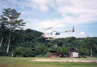 9M-AZL @ BLG - Belaga Aerodrome , Sarawak , aug '88 - by Henk Geerlings