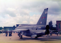 XS928 @ MHZ - Lightning F.6 of 5 Squadron at RAF Binbrook on display at the 1986 RAF Mildenhall Air Fete. - by Peter Nicholson