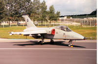 MM7092 @ EGVA - Another view of the RSV AMX on the flight-line at the 1991 Intnl Air Tattoo at RAF Fairford. - by Peter Nicholson