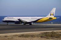 G-MARA @ GCRR - Monarch's 1999 Airbus A321-231, c/n: 983