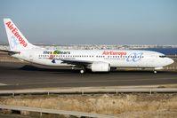 EC-HGO @ GCRR - Air Europa's 1999 Boeing 737-85P, c/n: 28384