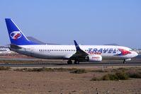 OK-TVF @ GCRR - Travel Service Canaria 2005 Boeing 737-8FH, c/n: 29669