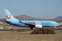 OO-JAN @ GCRR - JetairFly Belgium's 1999 Boeing 737-76N, c/n: 28609