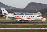 D-CAWU @ LOWS - Cessna 560 - by Andy Graf-VAP