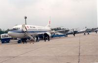 B-2535 @ XIY - Xian Airport Jun '91 - by Henk Geerlings