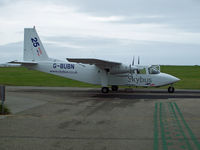 G-BUBN @ EGHC - Parked at Lands End - by Manxman