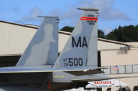 78-0500 @ NBC - Static at Marine Corps Air Station Beaufort - by Mark Silvestri