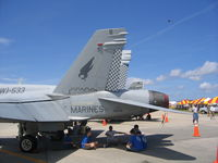 164714 @ NBC - Static at Marine Corps Air Station Beaufort - by Mark Silvestri