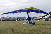 G-DECR @ EGBG - 2010 P & M Aviation Quik R, c/n: 8521 at 2011 Icicle