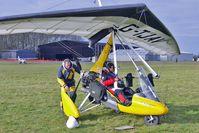 G-TJAV @ EGBG - 2004 Mainair Sports Ltd PEGASUS QUIK, c/n: 8070 at 2010 Icicle