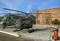 HR15-21 @ LEVS - Former Spanish Air Force helicopter preserved and on display at Museo del Aire - by Daniel L. Berek
