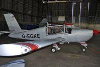 G-EGKE @ EGBG - 1980 MORANE SAULNIER RALLYE 180TS, c/n: 3325 at Leicester