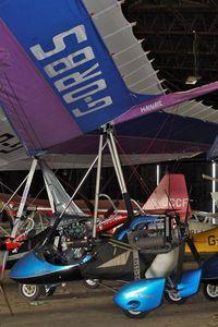 G-ORBS @ EGBG - 2002 Mainair Sports Ltd MAINAIR BLADE, c/n: 1336-0802-7-W1131